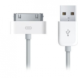 iPhone 3, 4, 4s lader ( 1meter ) USB kabel