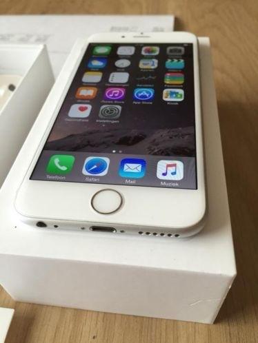 iPhone 6 16GB wit/zilver incl. 3 maanden garantie