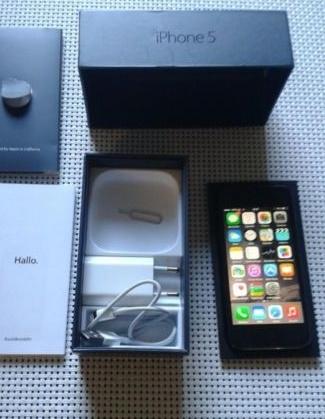 iPhone 5 16GB Zwart incl. 6 maanden garantie