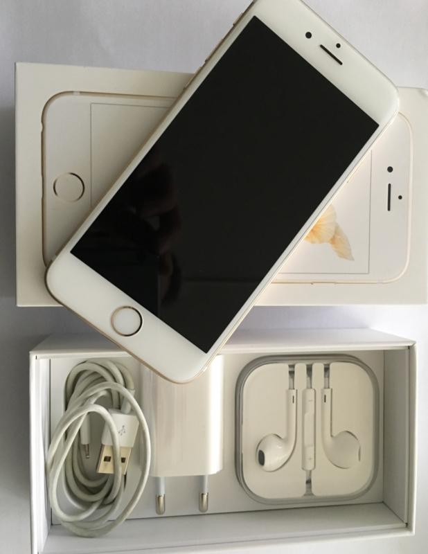 iPhone 6 Plus 16GB wit/goud incl. 6 maanden garantie