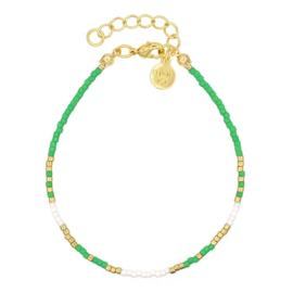 Mint 15 - Delicate Bracelet – Green