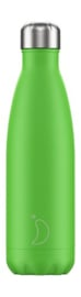 Chilly bottle Neon groen - 500ml