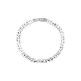 Armband Square chain - zilverkleurig