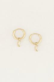 My Jewellery Oorringen met maantje