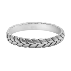 Happy Hippies Ring braid sterling zilver