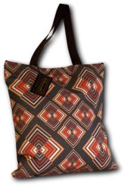 Chenaski Tote-bag Rhombus grey