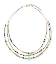 Korte ketting met beads