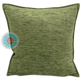 Kussen Olijf groen kussen 45x45cm
