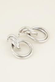 My Jewellery Oorhangers met grote ringen
