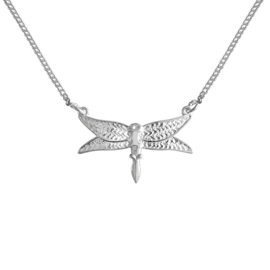 Happy Hippies  ketting Dragonfly sterling zilver