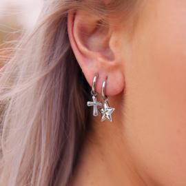 My Jewellery Oorringen kruisje