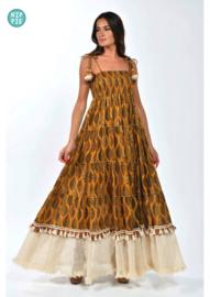 Gypsy Queen lange jurk African vibe