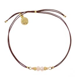 Dragonfly Bracelet (Light Rose) 'Enchanted Forest'
