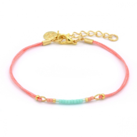 Mint 15 - Mini bracelet Coral - Summer party
