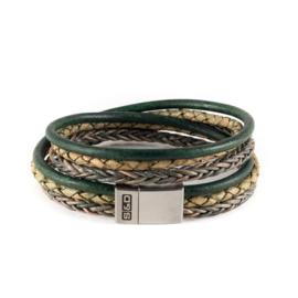 Armband Fibonacci Green