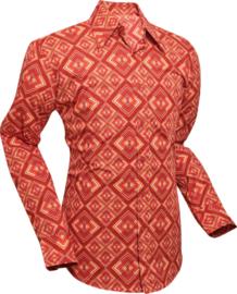 Chenaski overhemd Rhombus rust
