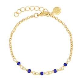 Mint 15 - Chain Bracelet – Royal Blue