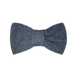 Haarband Cozy bow antraciet