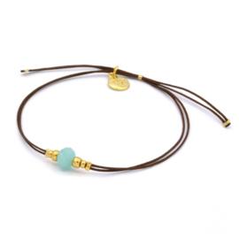 Ocean sparkle bracelet - Beach pastels