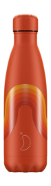 Chilly bottle Retro Orange Wave - 500ml