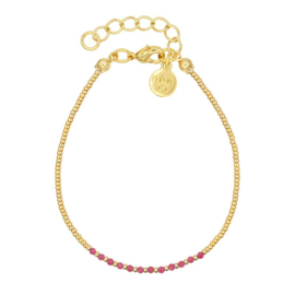 Mint 15 - Little Jade Beads – Ruby Pink
