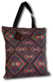 Chenaski Tote-bag Rhombus colourful