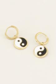 My Jewellery Oorbellen yin yang