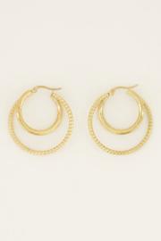 My Jewellery Oorringen groot dubbel