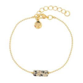 Mint 15 - Gemstone Bracelet – Dalmatian Jasper