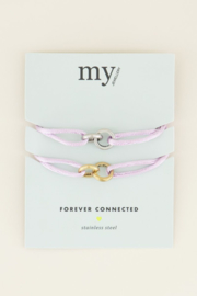 My Jewellery Lila forever connected armband