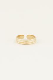 My Jewellery Ring met patroon