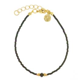 Diamond bracelet - Army green