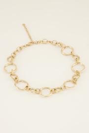 My Jewellery Ketting open rondjes