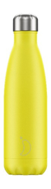 Chilly bottle Neon geel - 500ml