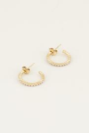 My Jewellery Oorringen met kleine parels