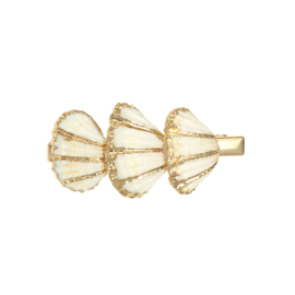 Haarclip Shells together (Goud)