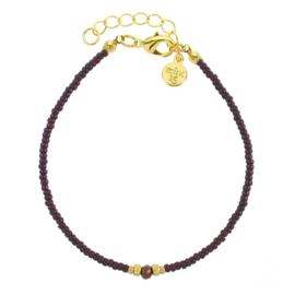 Diamond Bracelet (Dark Brown) 'Enchanted Forrest'
