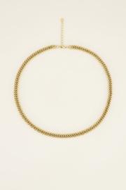 My Jewellery Ketting brede schakels (maat L)