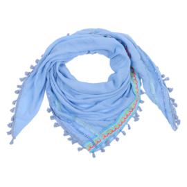 Sjaal Neon aztec - blauw