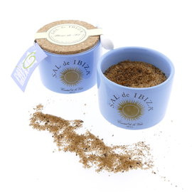 Sal de Ibiza - Mar Blau Sea Salt with Black Garlic 140gr