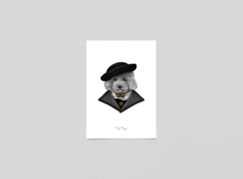 Postkaart boer Jacob - Ferdy Remijn
