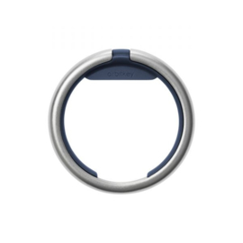 Orbitkey Ring (Silver) - Navy