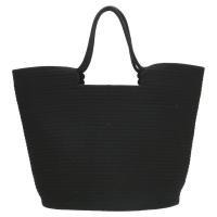 Strandtas zwart