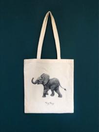 Tote Afrikaans baby olifantje - Ferdy Remjn