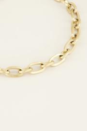 My Jewellery Schakelketting kapittelslot