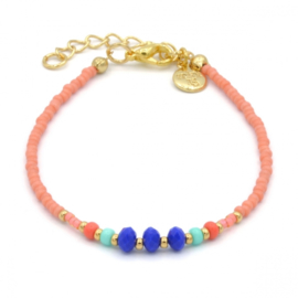 Summer mix bracelet Coral - Summer party