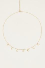 My Jewellery Ketting met maantjes