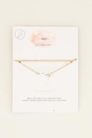 My Jewellery Dubbel enkelbandje met bloemetje