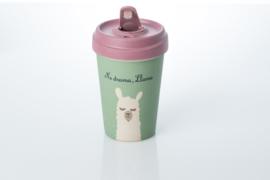 Bamboo cup Drama Llama
