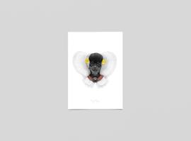 Postkaart Boerin Teddy - Ferdy Remijn